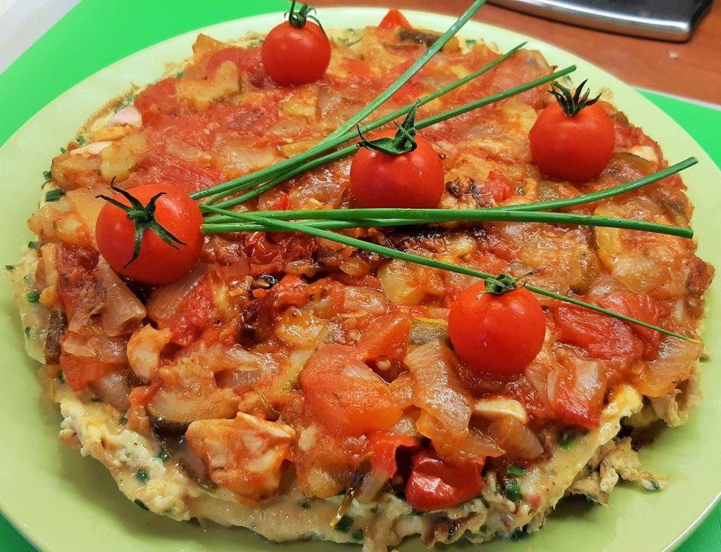Tomates courgettes ratatouille aubergines